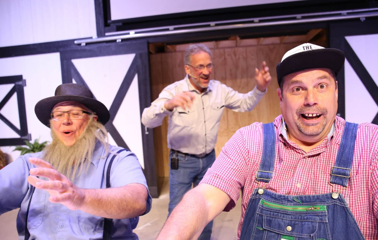 Variety show at the Amish Country Theater