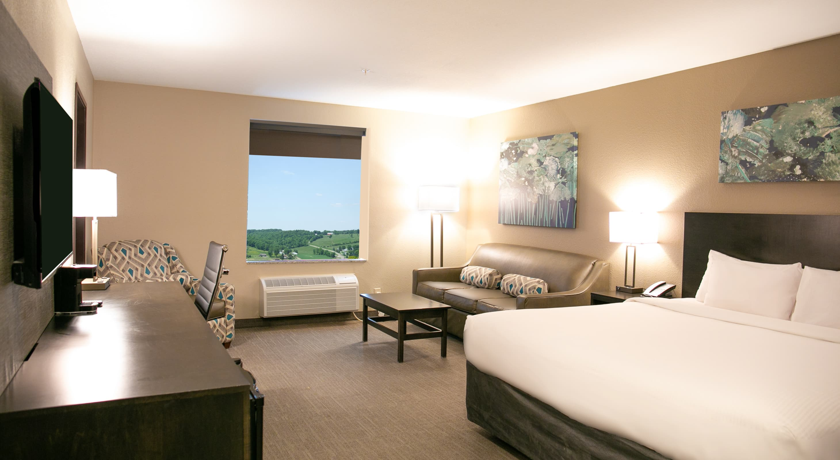 Spacious King Suite at the Berlin Encore Hotel
