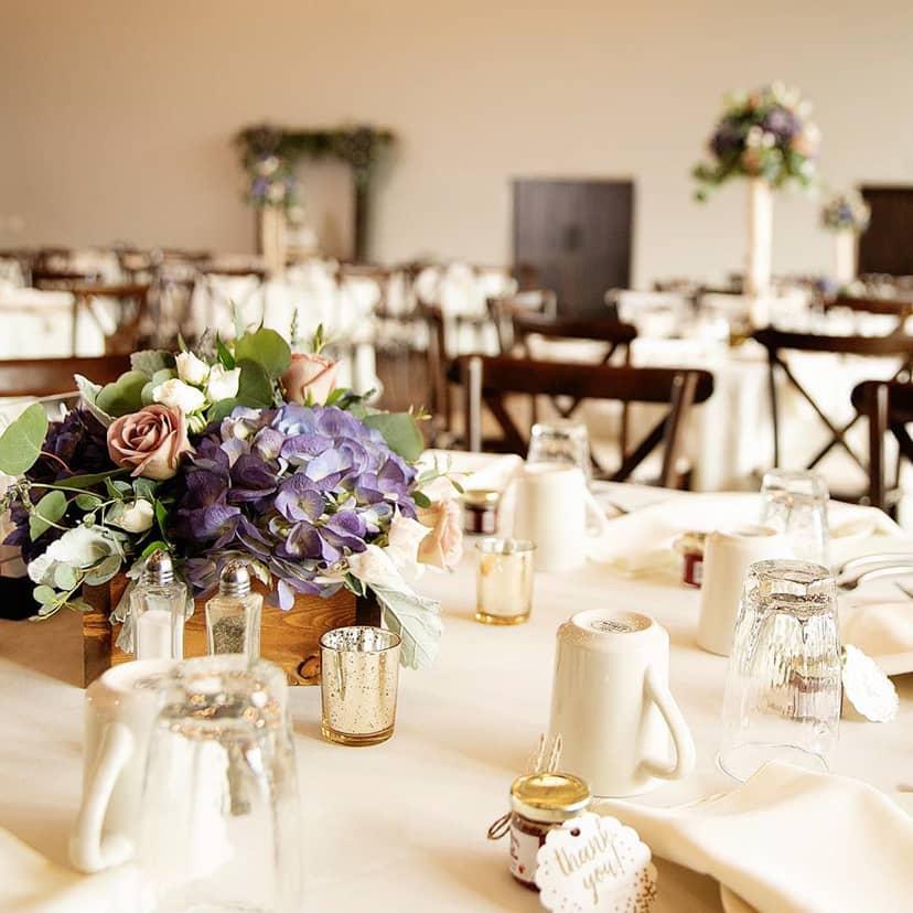 Wedding reception at the Encore Hall at Berlin Encore Hotel